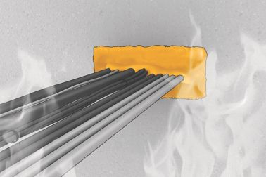 Fire resistant acrylic sealant for linear seals and penetrations