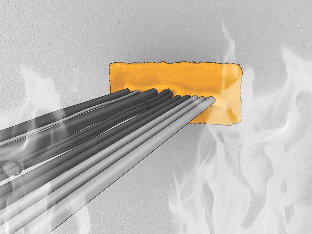 Passivt brandskydd-Genomföring
