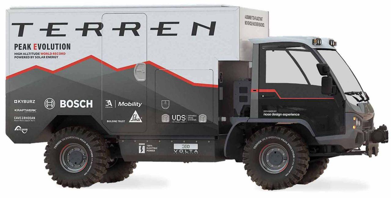 The vehicle Terren