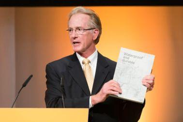 Phillip Arnold, L. M. Scofield Company, USA, at the AGM 2017