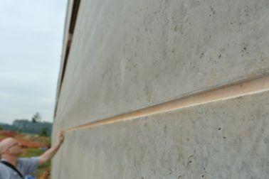 Polyurethane sealant at concrete building facade joint