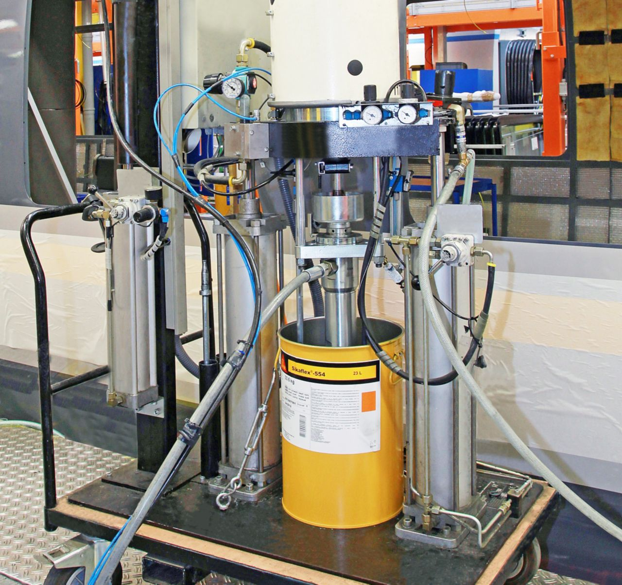 Booster application and pump system