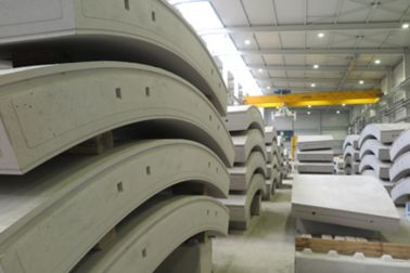 Prefabricated elements produced with Sika precast concrete admixtures