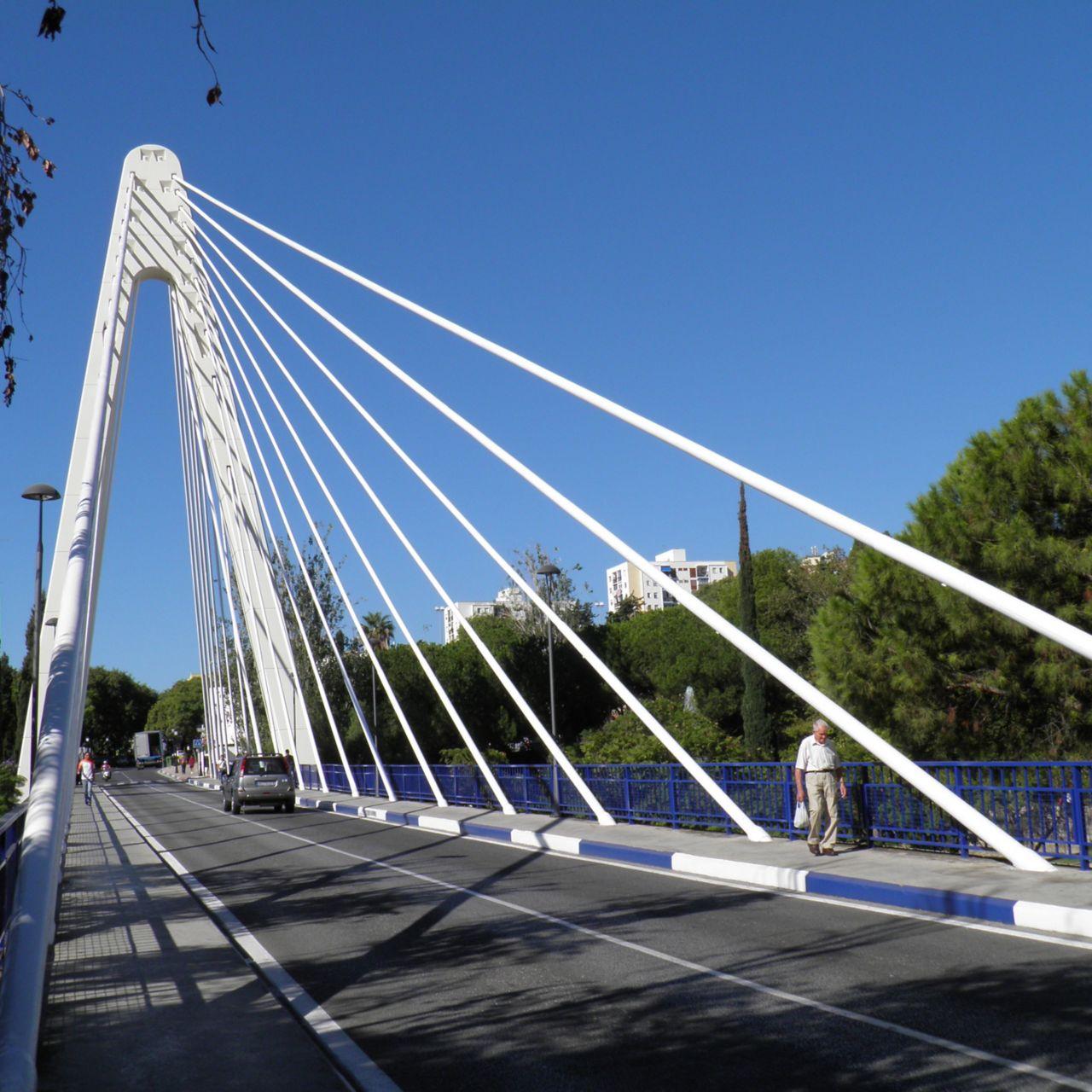 Complete repair and refurbishment of bridge Puente Cristo del Amor in Marbella Spain