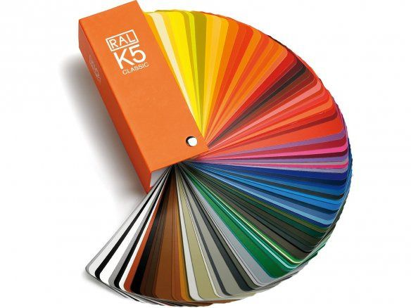 RAL classic color fan deck for Sika roof membrane custom colors