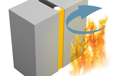 Fire resistance illustration of Integrity (E)