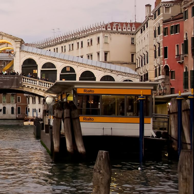 Rialto Bridge in Venice Italy