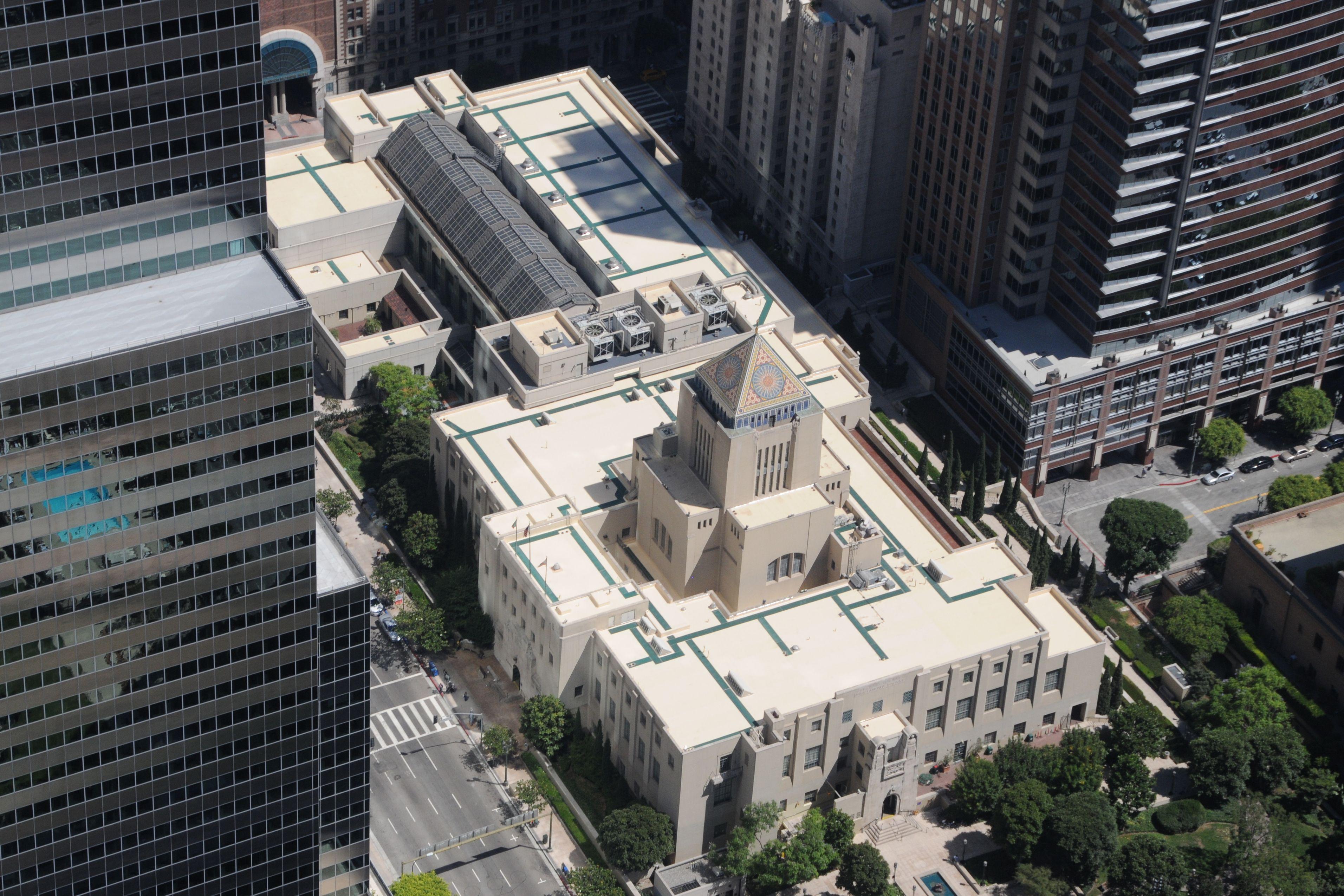 Riordan Library Roof