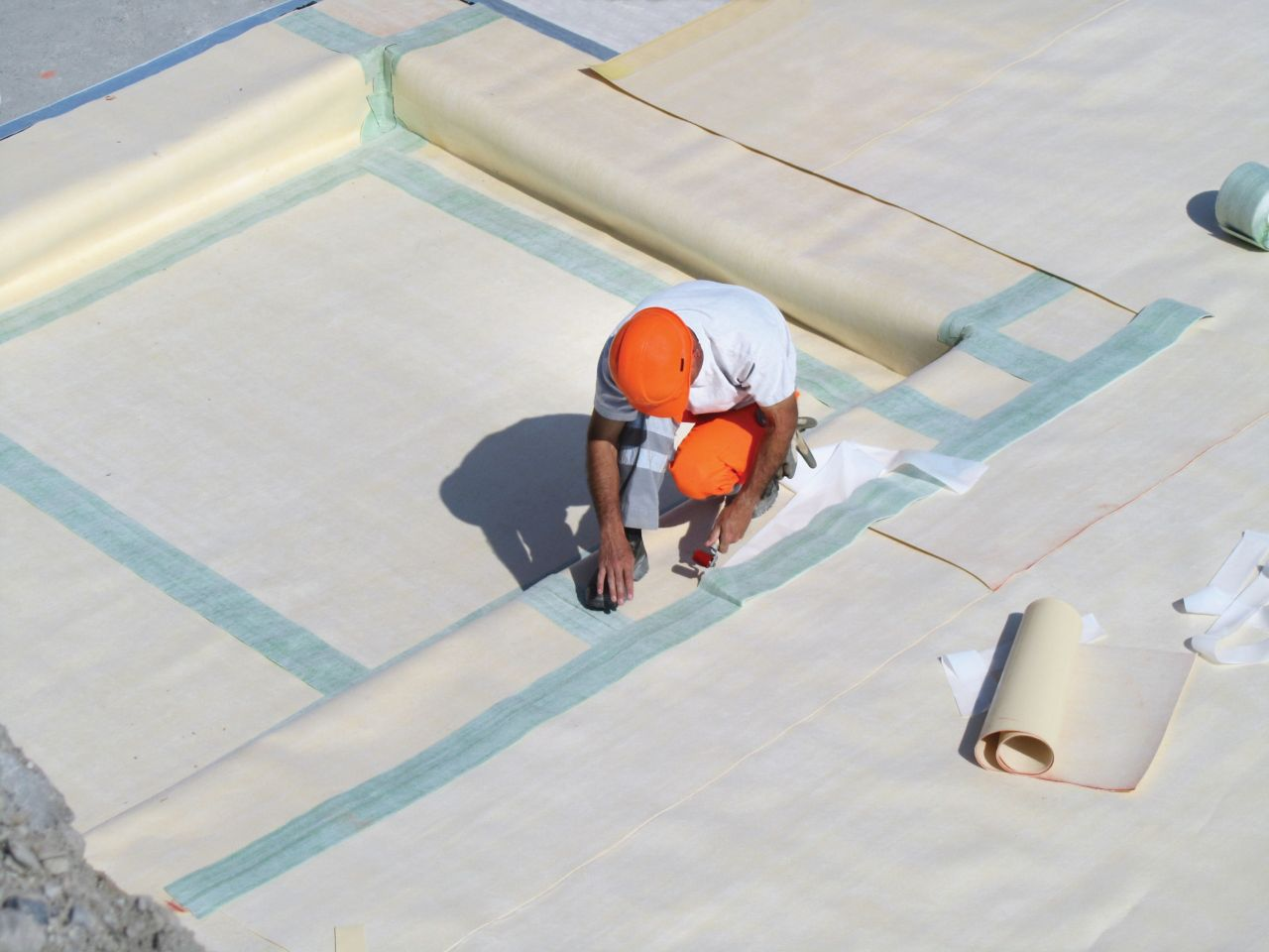 SikaProof A roofing membrane tape sealing solution
