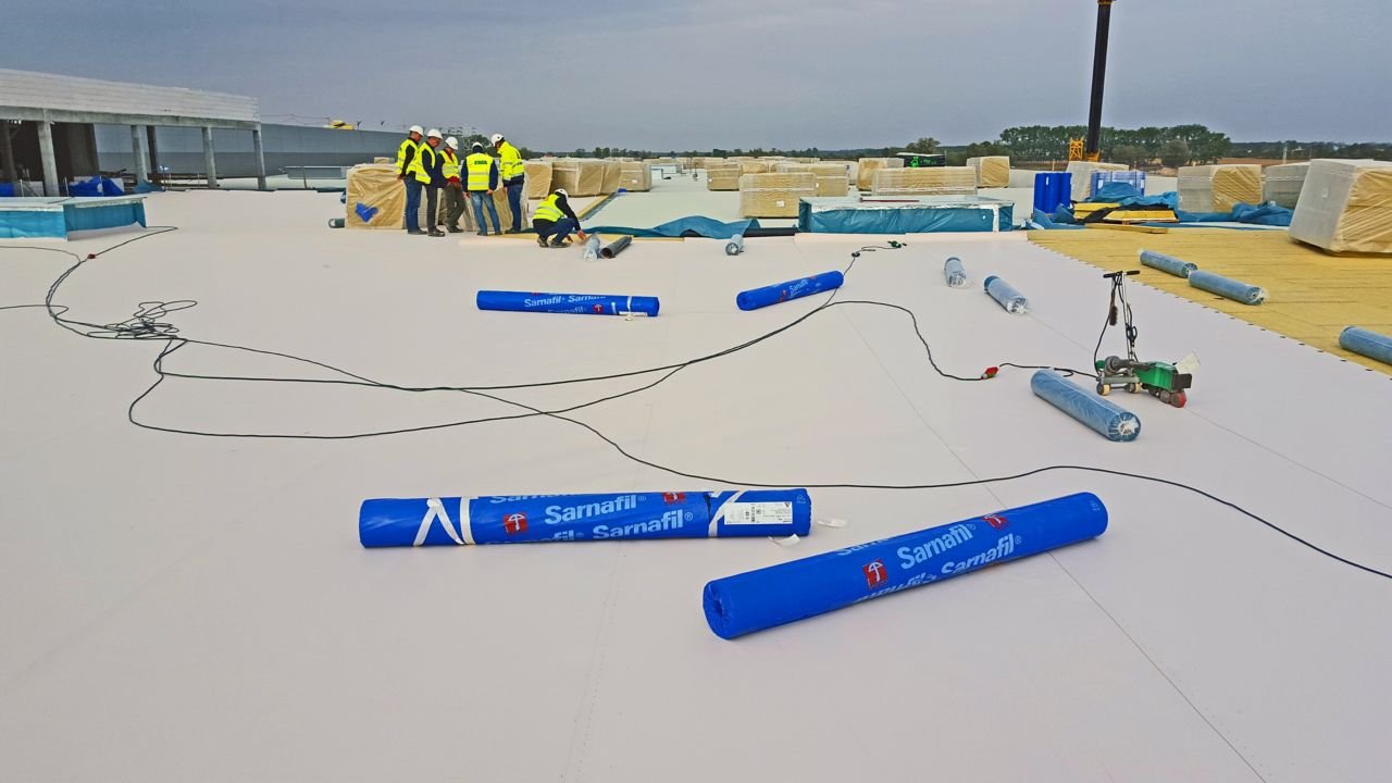 Sika Sarnafil single ply membrane