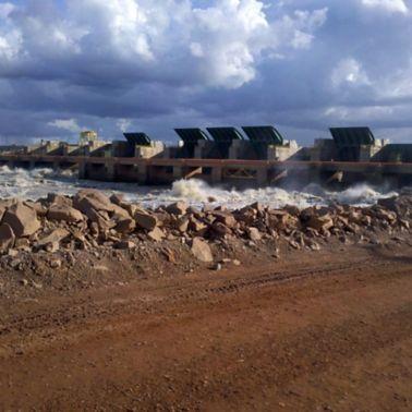 Santo Antonio Dam in Brazil