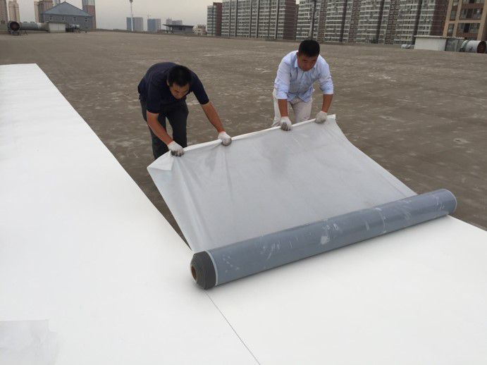 single ply membrane application