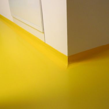 Seamless Decorative Floor of a healthcare institute
