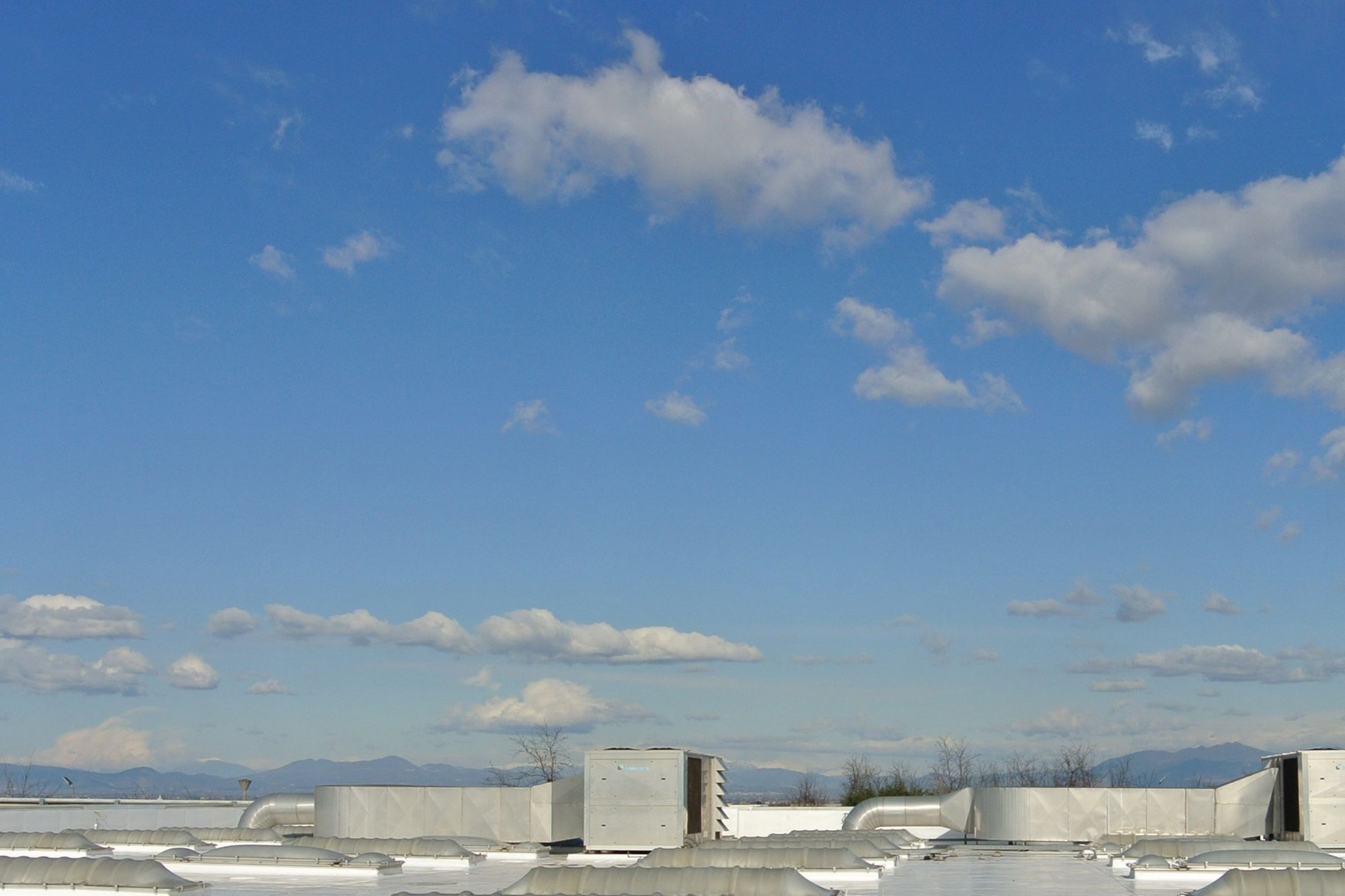 Roof of Shopping Center in Campania