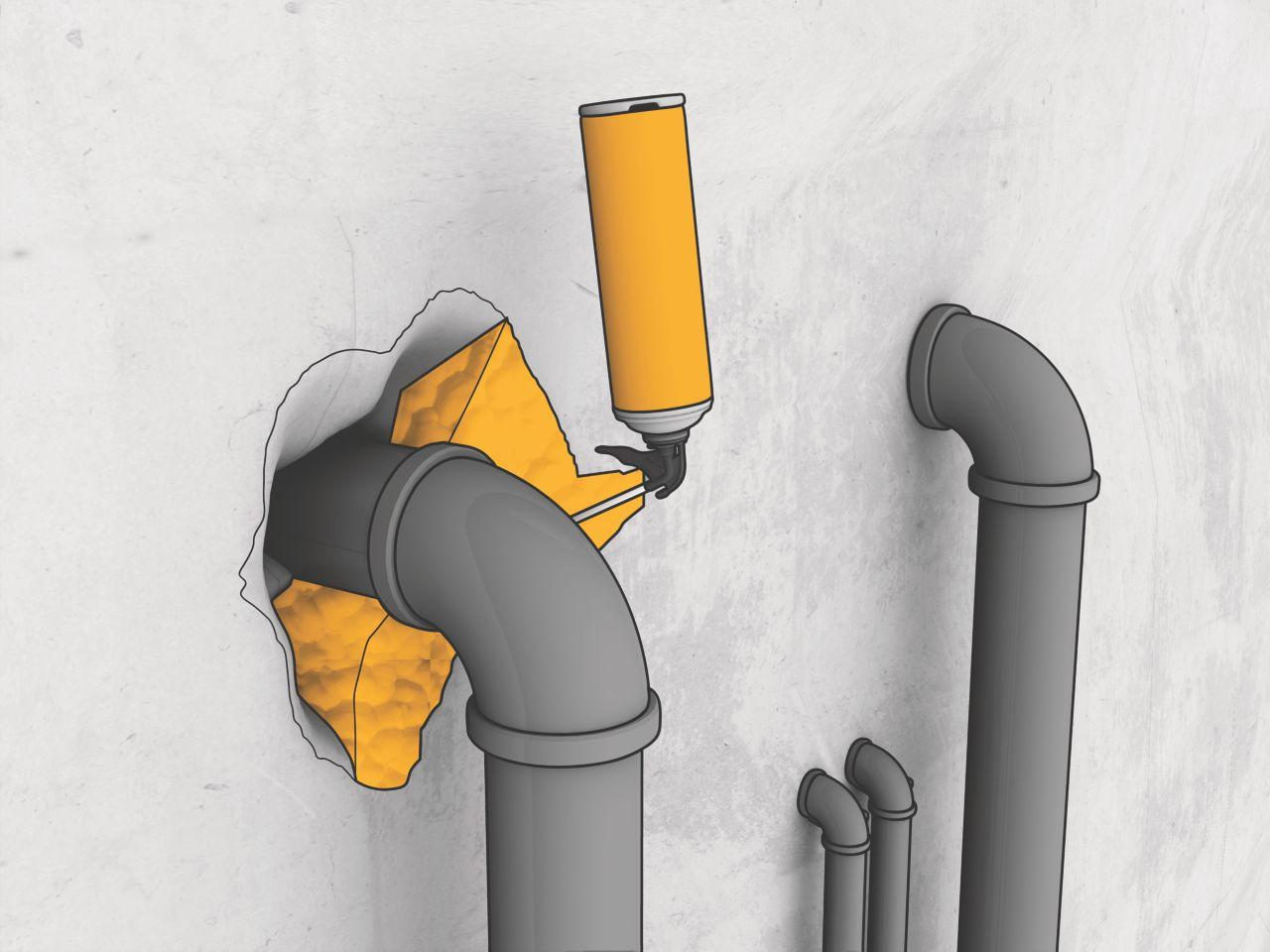 Sika Boom Application Illustration