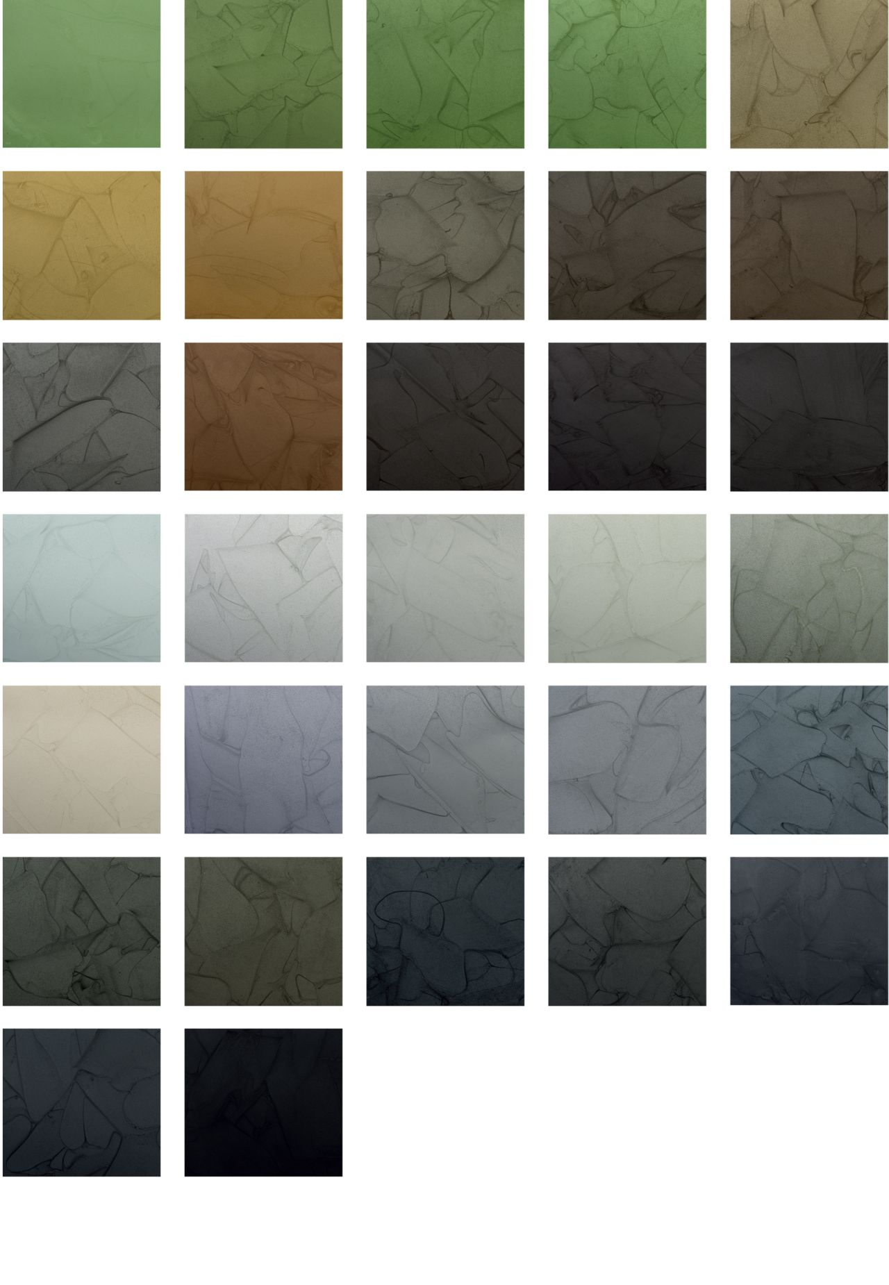 Sika ComfortFloor® Marble FX color chart for resin floor