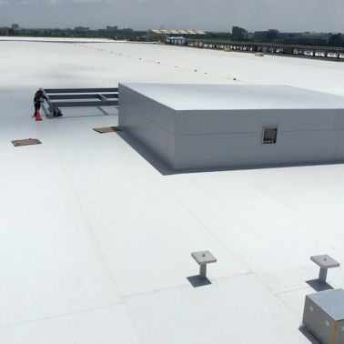Sika Cool Roof applied on a factory in Taiwan