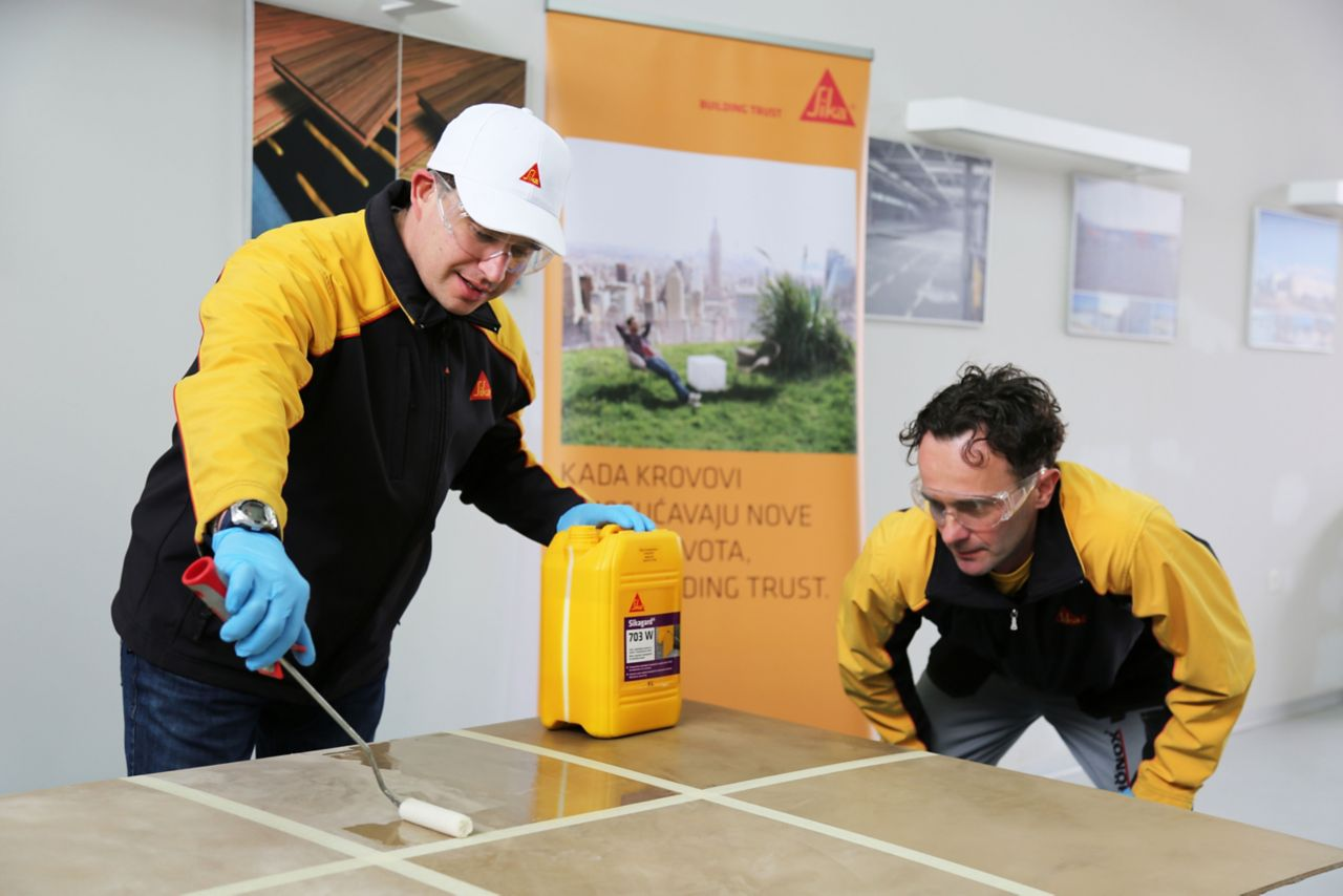 Sika Croatia – Team Technical Service