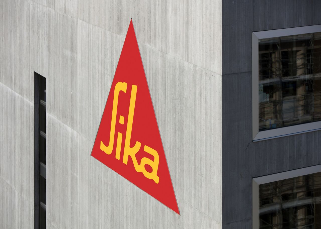 Sika Logo on Facade of Technology Center