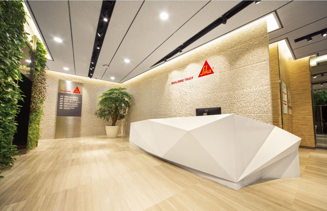 Reception of Sika office in China