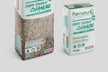 Hemp-based facade mortar Parnatur®