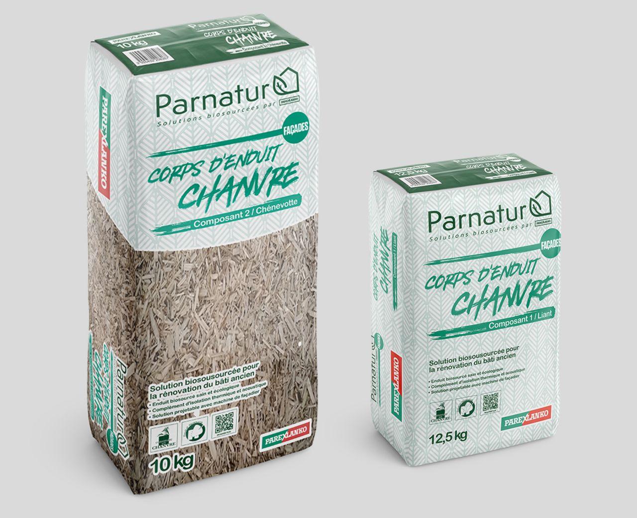 PARNATUR®  izolační malta z biologických zdrojů