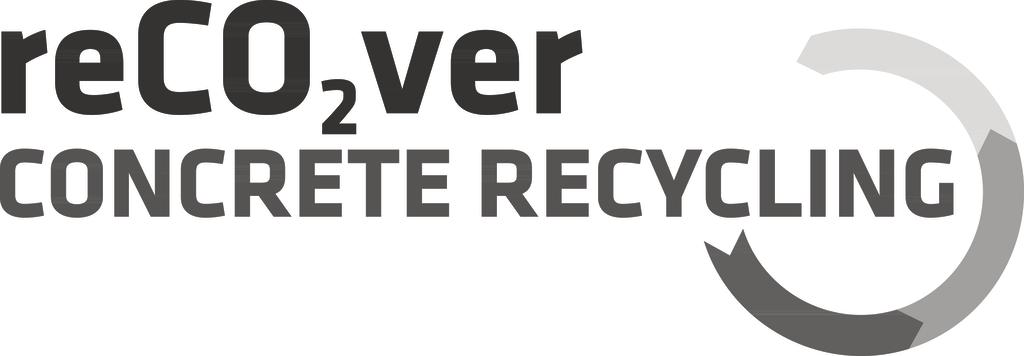 reCO2ver concrete recycling Sika logo