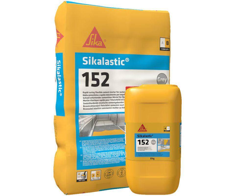 Cementni malter za fleksibilnu hidroizolaciju i zaštitu betona