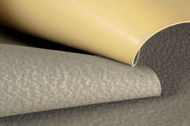 SikaProof® A+ waterproofing membrane folded to show yellow surface