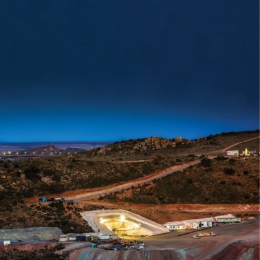 Silver Mine in the Mexican Heartland