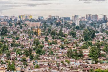 Skyline of Ethiopia