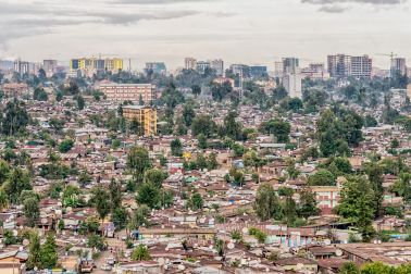 Skyline of Ethiopia
