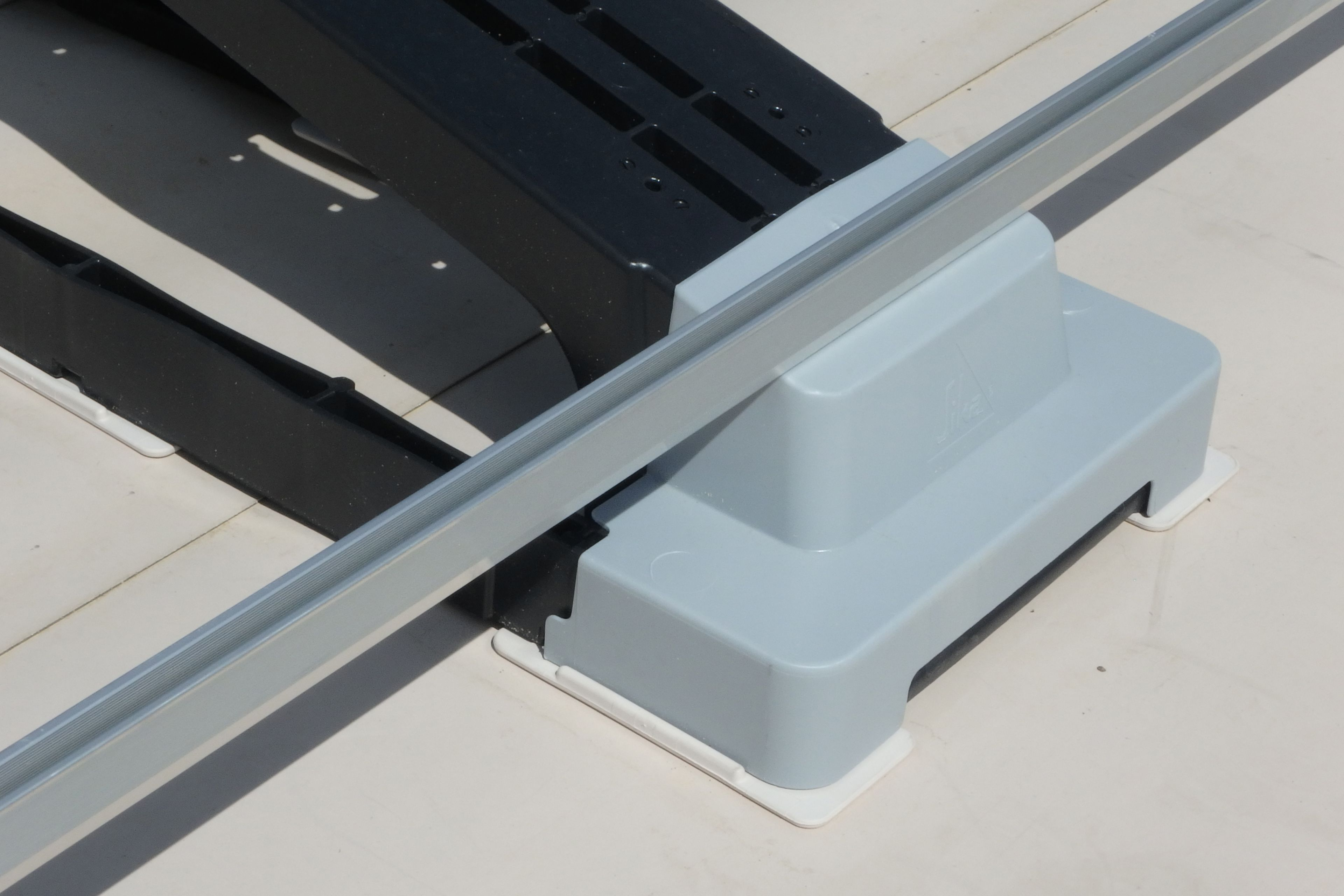 Front detailed view of Sika SolarMount-1