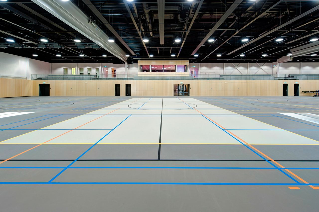 Indoor sport floor by Sika