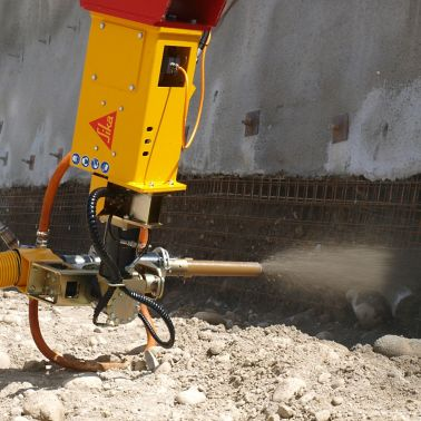 Sika Aliva machine for sprayed concrete