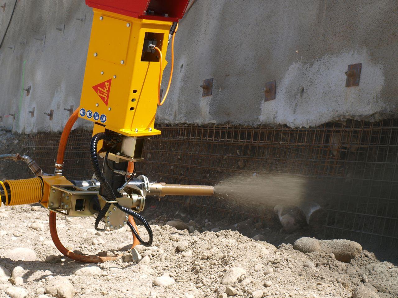 Brizgani-beton