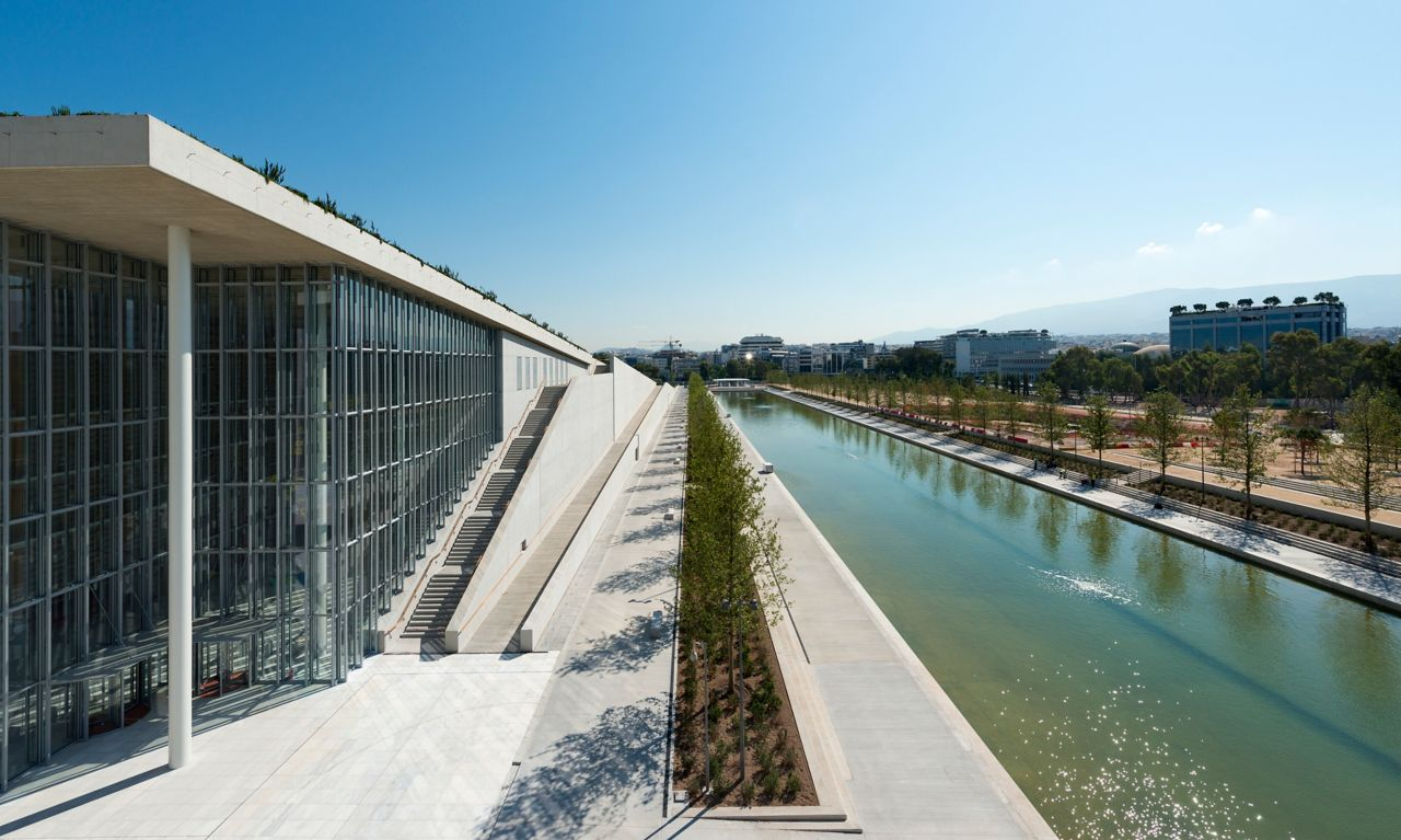 Stavros Niarchos Foundation Cultural Center (SNFCC) in Athens