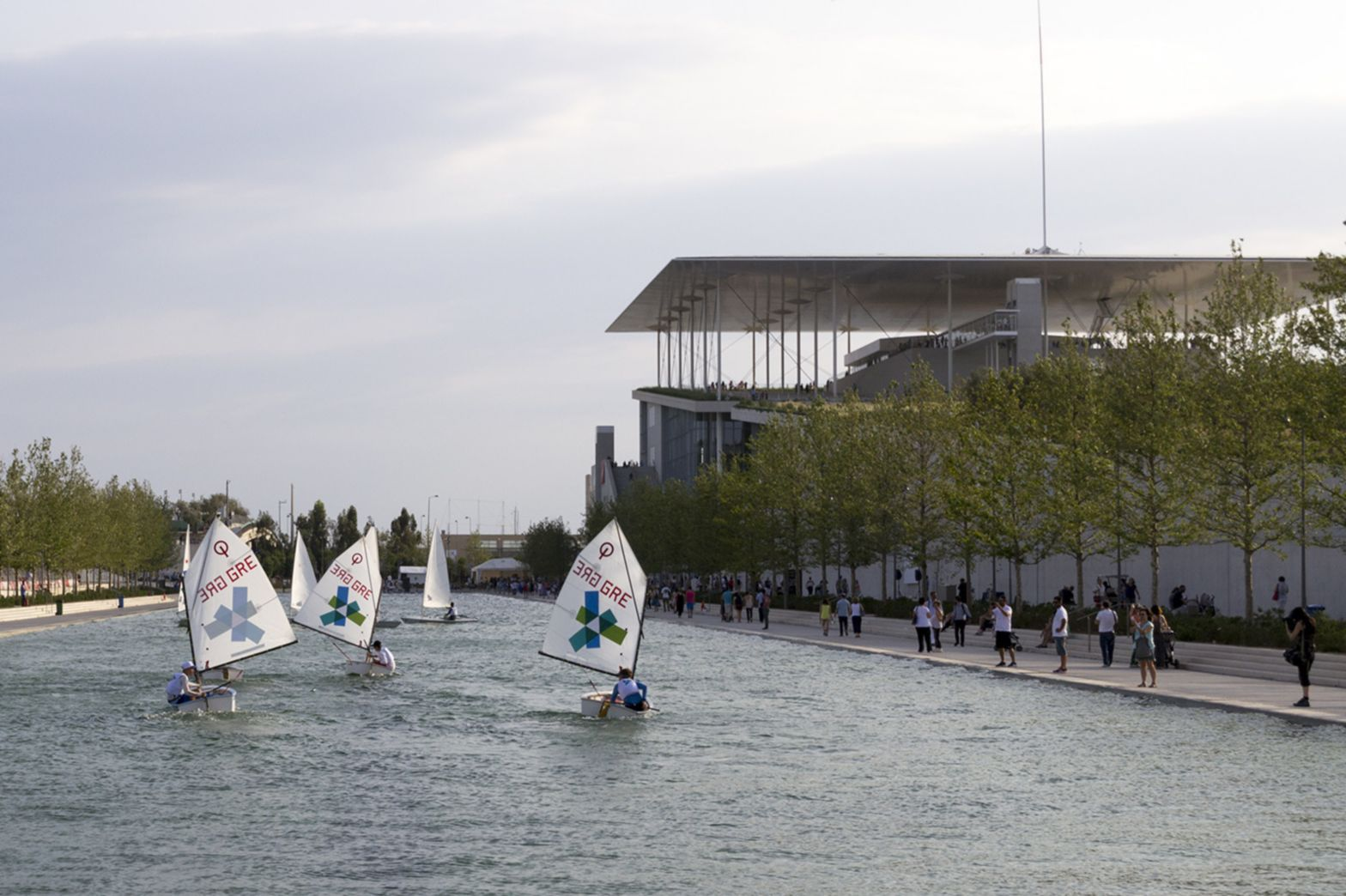 Water Canal of the Stavros Niarchos Foundation Cultural Center