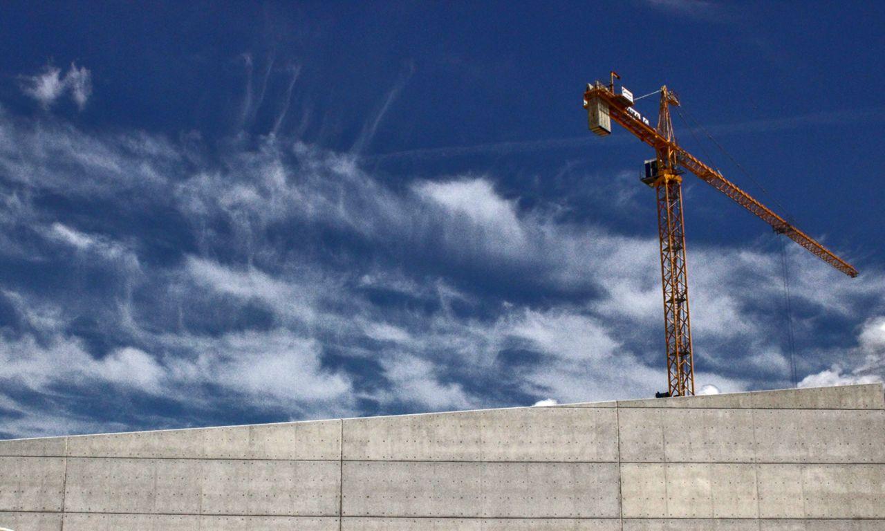 钢丝网水泥建设工作在斯塔夫罗斯尼亚尔霍斯文化中心