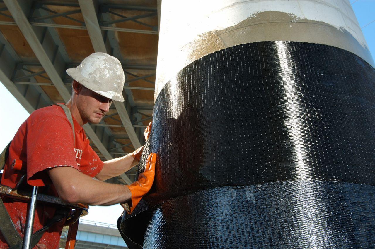 Structureel versterken van kolommen