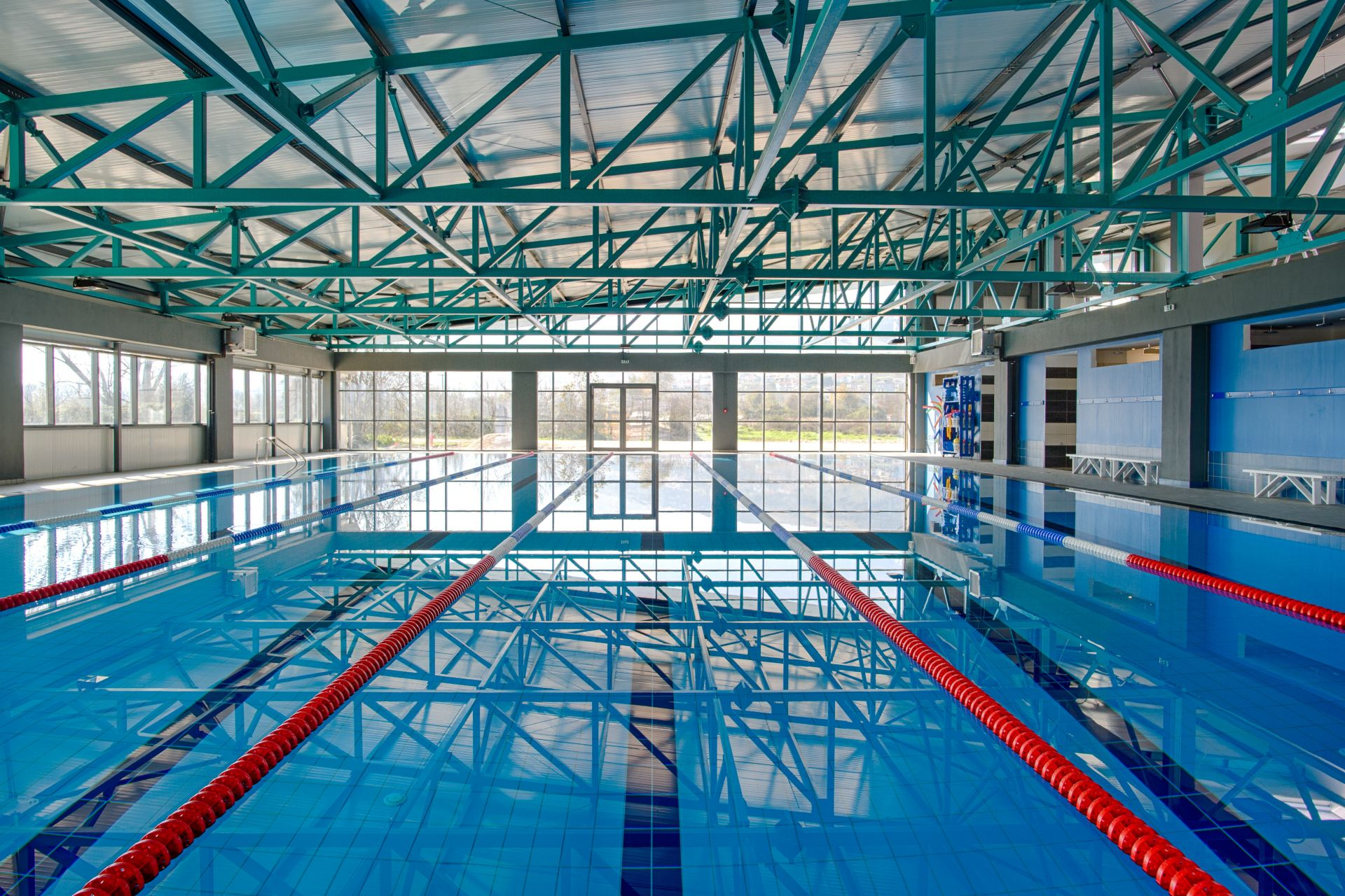 Swimming Pool of the Epirus Sport and Health Center in Ioannina, Greece