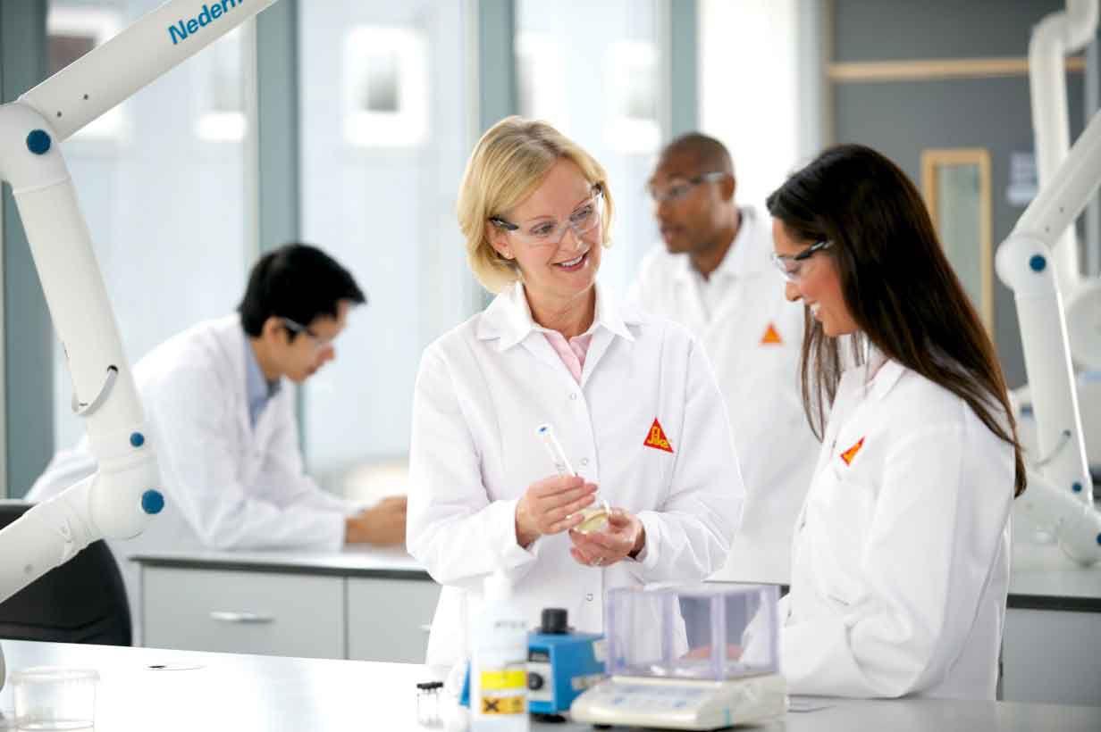 Sika Labs in Preston, UK
