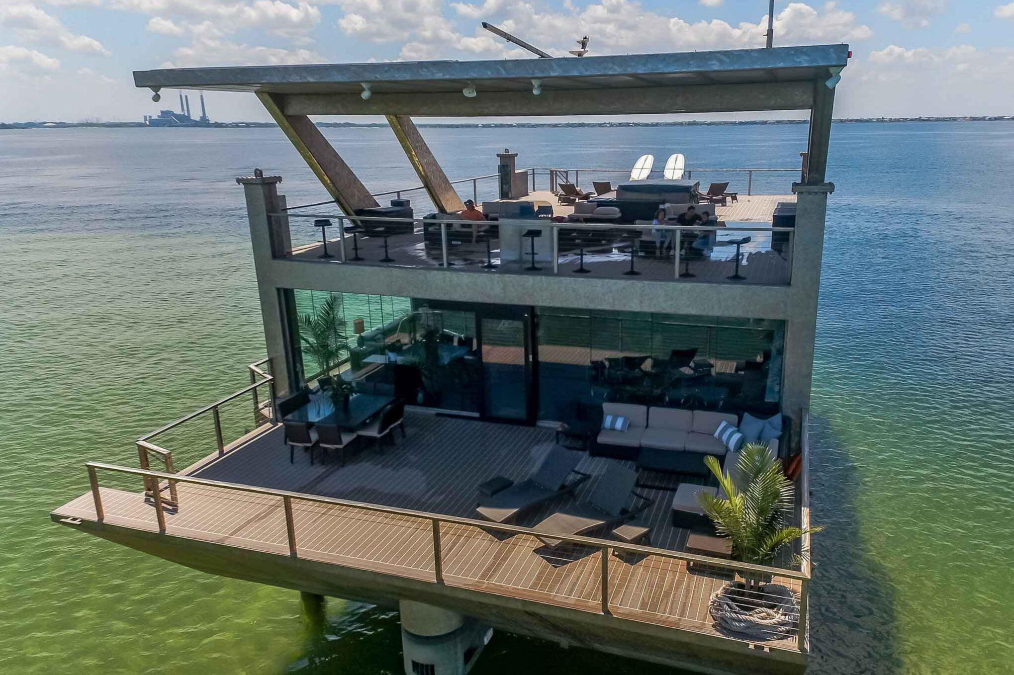 Sika Teak deck for beach house