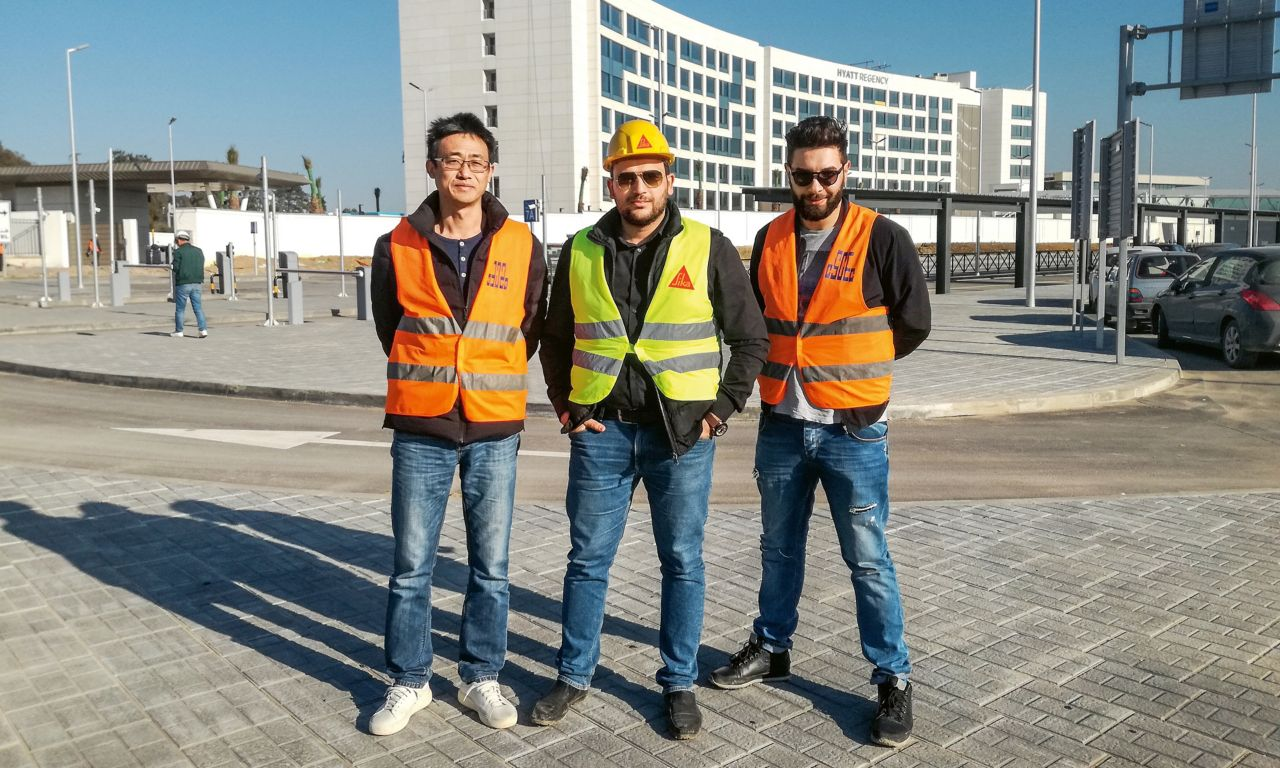 Sika Algeria – Sales Team with Customers