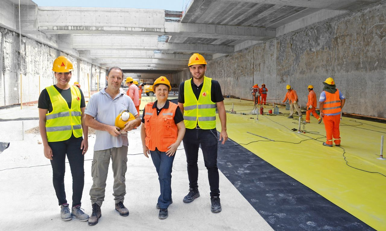 Sika Argentina – Team Waterproofing
