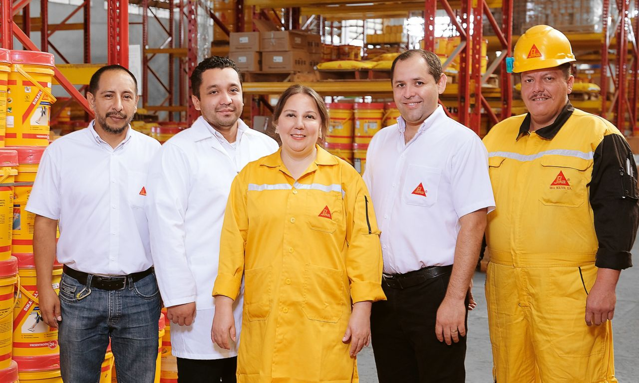 Sika Bolivia – Team R&D, Operations and Sales