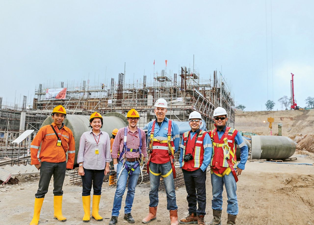 Sika Team Indonesia Muara Laboh
