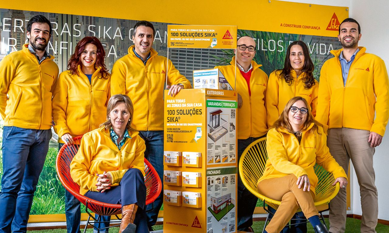 Sika Portugal – Team HR, KAM, Help Desk, Flooring, Business Development, Finance