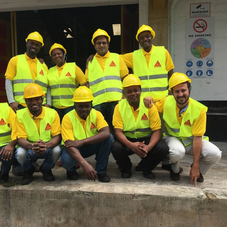 The team of Sika Tanzania