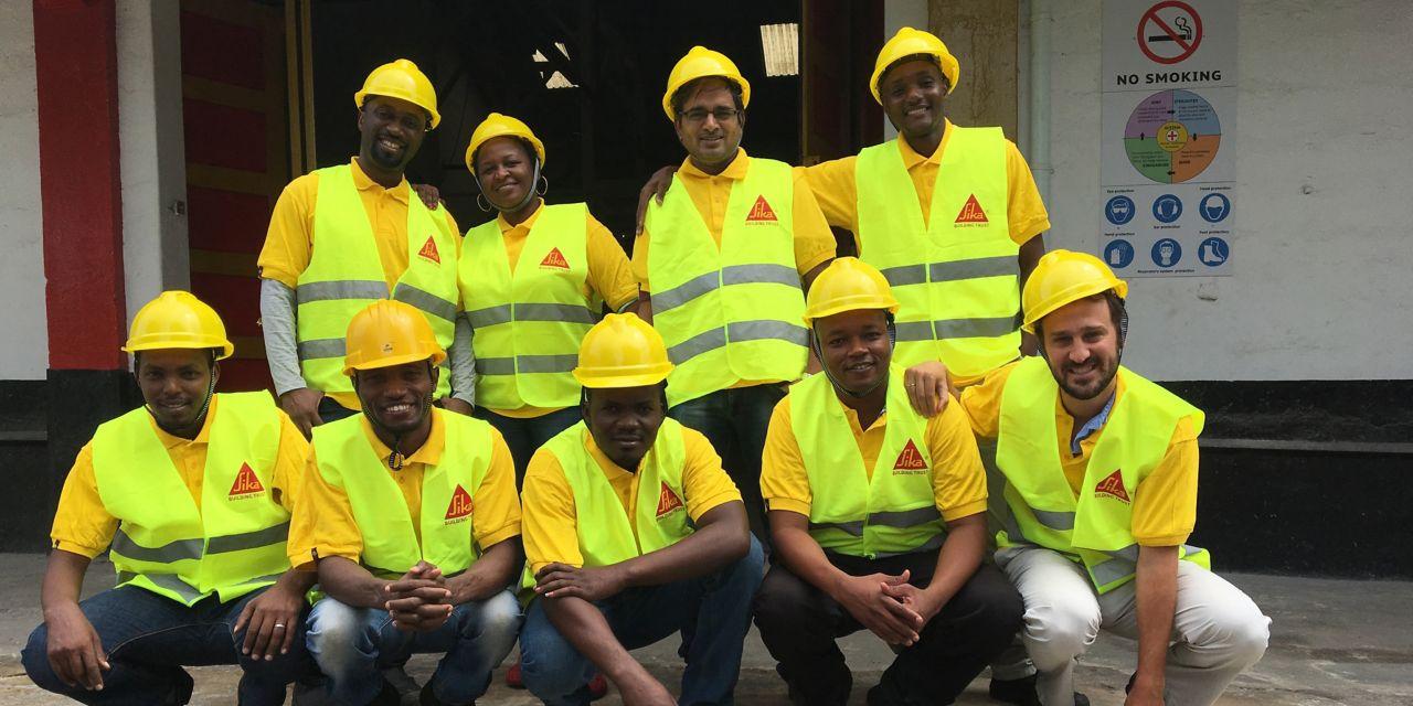 The team of Sika Tanzania